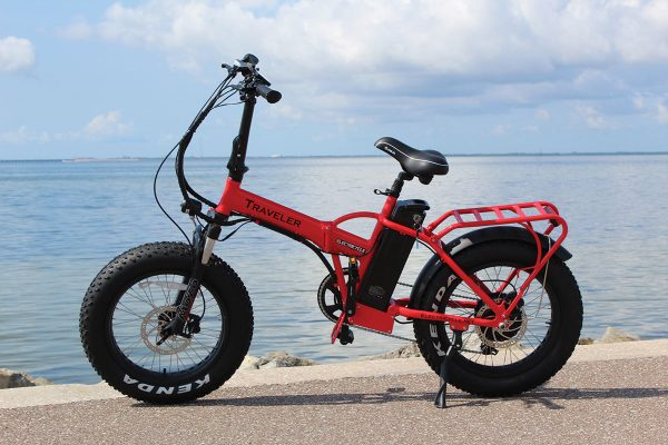 Electricycle-Traveler-Red